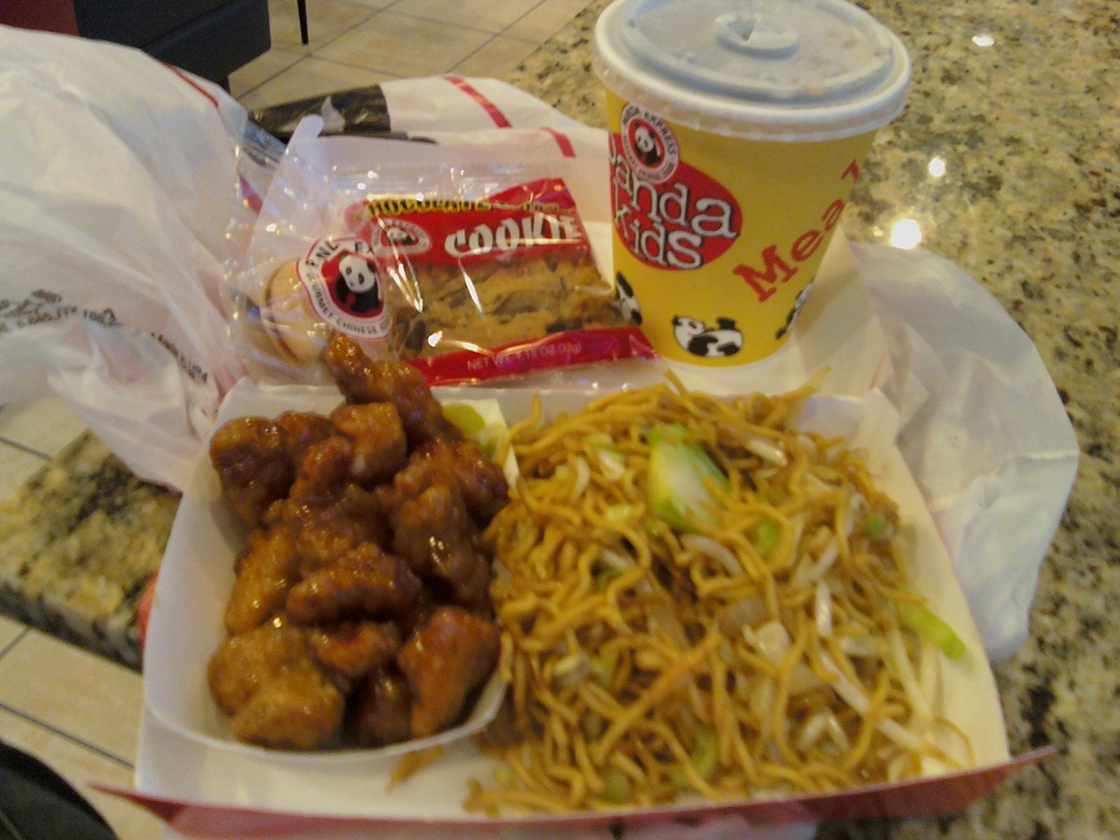 Panda express writing towards happy for Age cuisine express